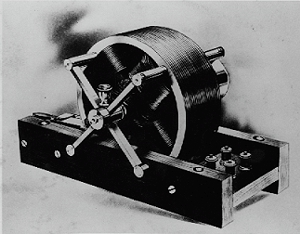 Induction motor demonstrated by Tesla before the Institute of Electrical Engineers in 1888