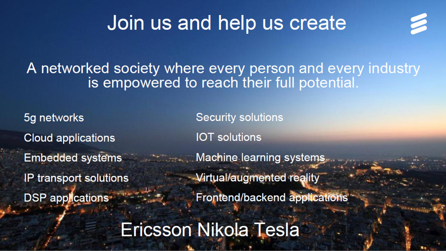 Join us and help us create a networked society